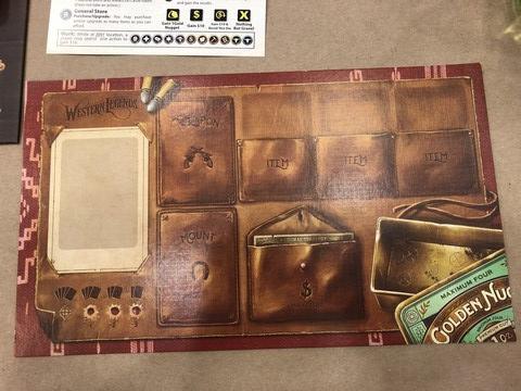 Western Legends - Player Board