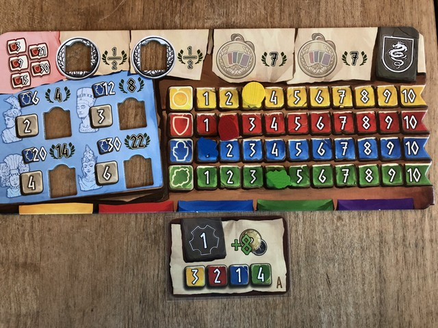 Hadara - Player Board and Start