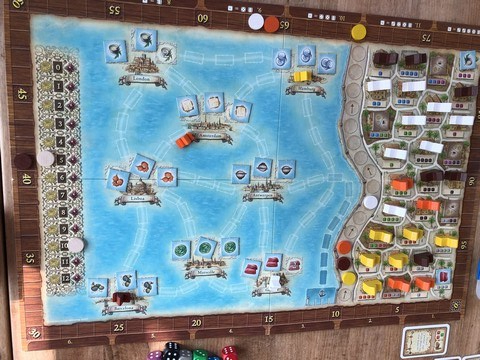 Macao - Board in Use