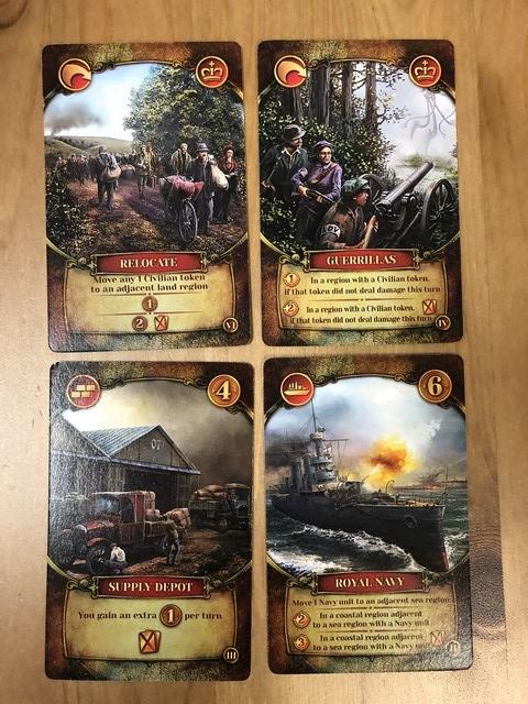 WotW - Human Cards