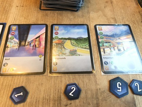 The City - Further Cards