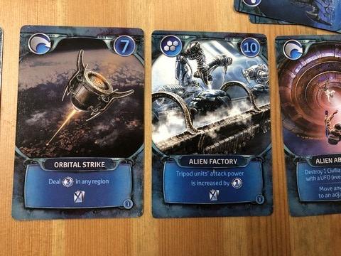 WotW - Alien Cards