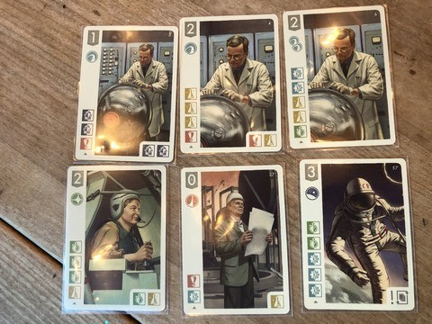 Space Explorers - Cards