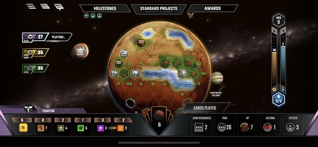 Terraforming Mars Mobile