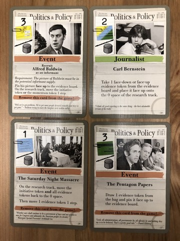 Watergate - Editor cards