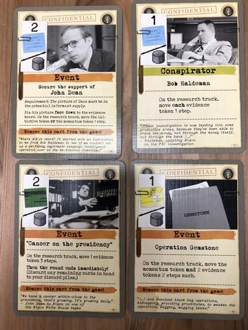Watergate - Nixon cards