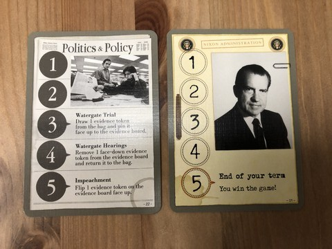Watergate - Player Cards