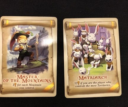 Bunny Kingdom - Parchment Cards