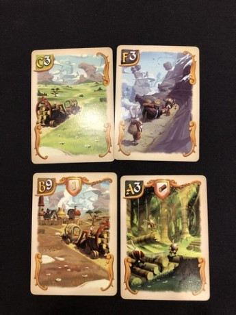 Bunny Kingdom - Territory Cards