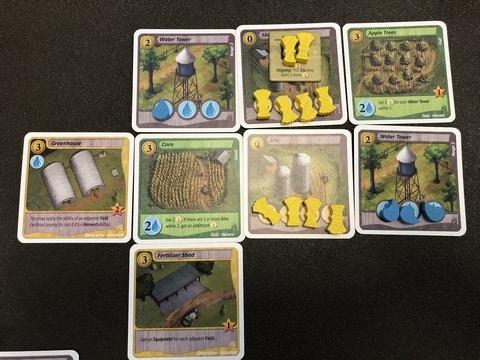 Fields of Green - Later Tableau