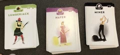 Villagers - Basic Cards