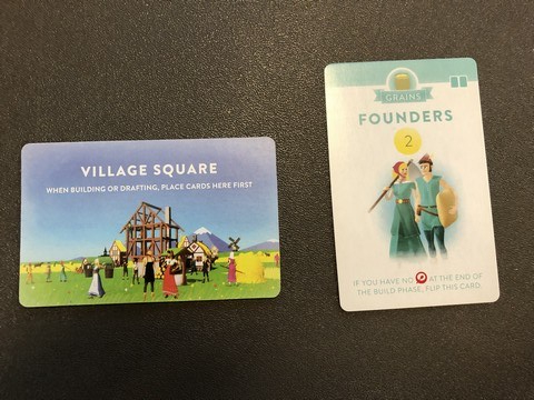 Villagers - Town Square & Founder