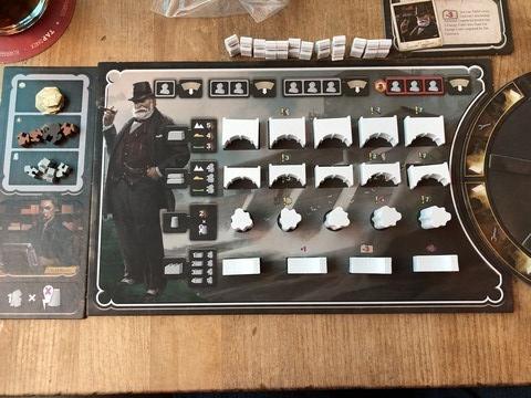 Barrage - Player Board