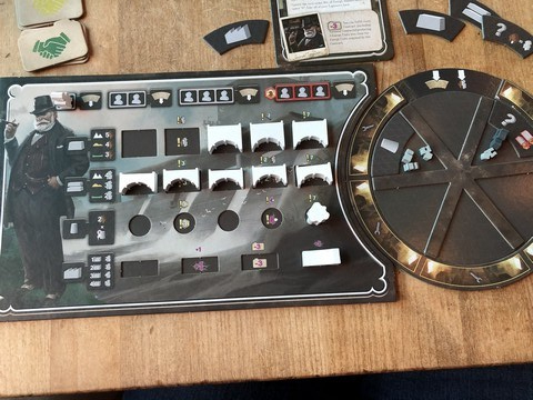 Barrage - Player Board with Rondel