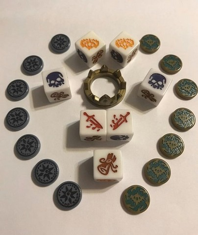 Dice of Crowns - Pieces