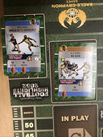 Football Highlights - Cards