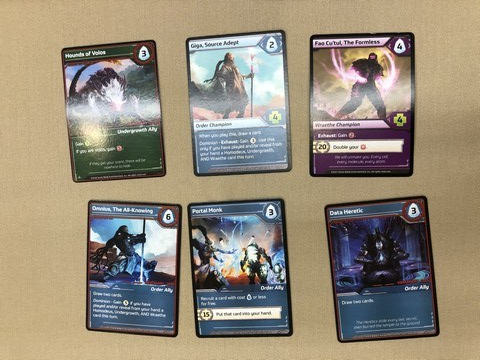 Shards - Cards