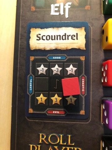Roll Player Alignment card - Scoundrel