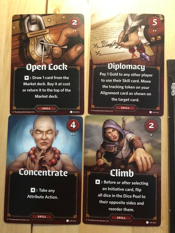 Roll Player - Skill Cards