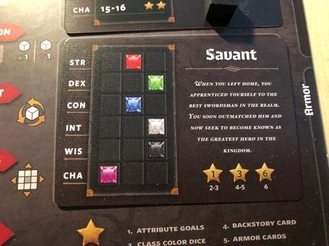 Roll Player - Savant background card