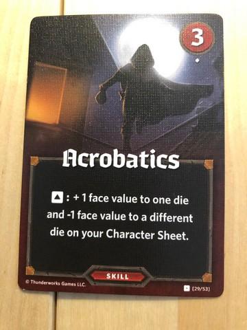 Roll Player - Acrobatics