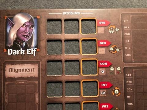 Roll Player - Dark Elf