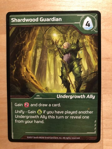 Shards of Infinity - Undergrowth card
