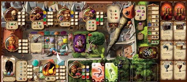 Alchemists Board