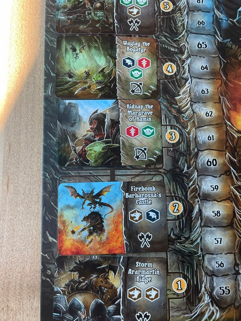 Shadow Kingdoms of Valeria battle plans - let the chaos begin!
