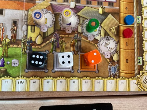 That orange family member is kind of a wimp. Lorenzo il Magnifico