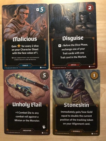 Market Cards - Roll Player: Monsters & Minions
